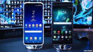 Razer Phone Special Edition VS Samsung Galaxy S8 Plus - Speed Test