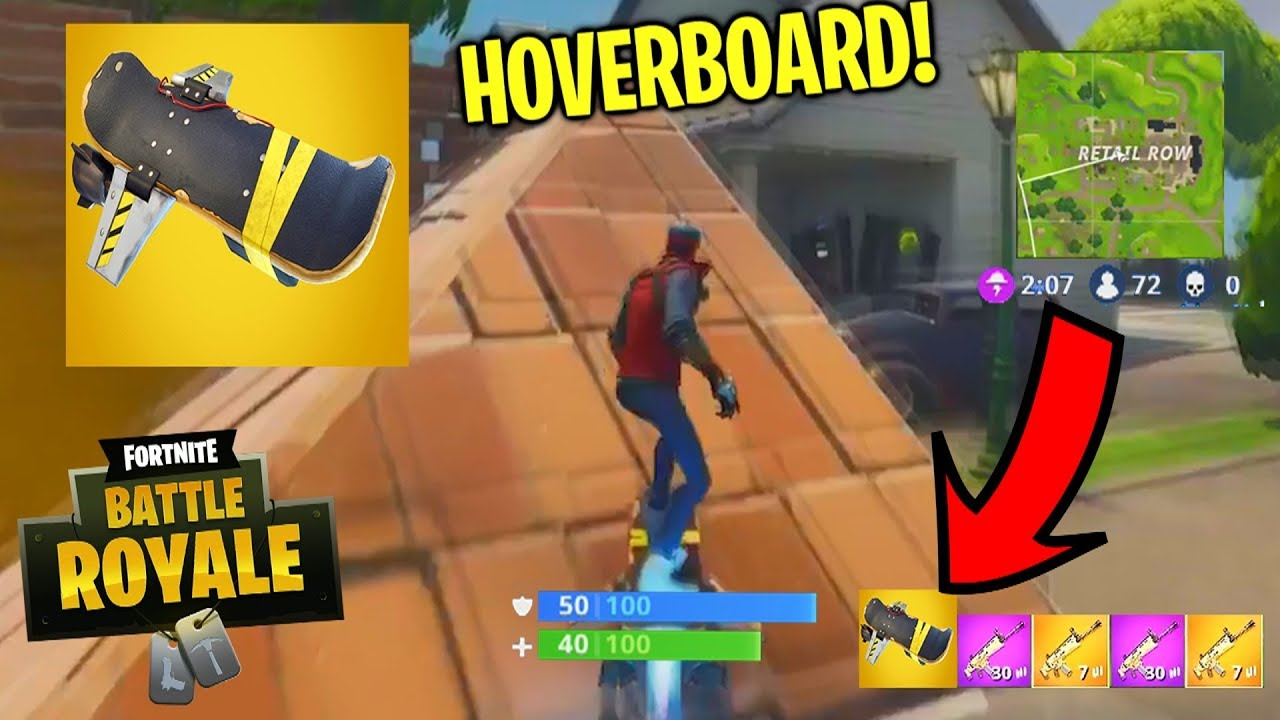 hoverboard in fortnite battle royale fortnite legendary hoverboard coming new fortnite vehicle - where are the hoverboards in fortnite located