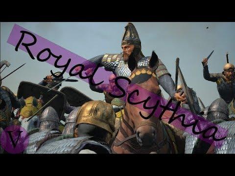 Total War Rome II Royal Scythia V: Kartli Returns - YouTube