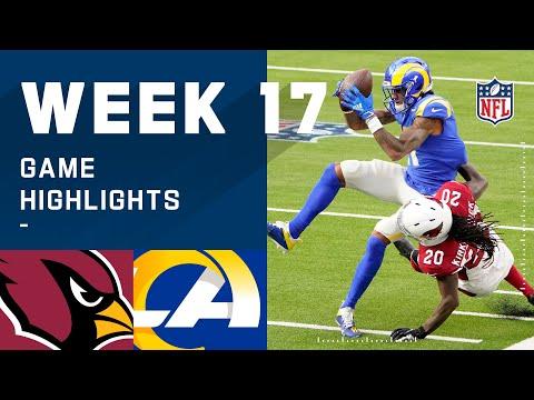Cardinals vs. Rams Week 17 Highlights | NFL 2020