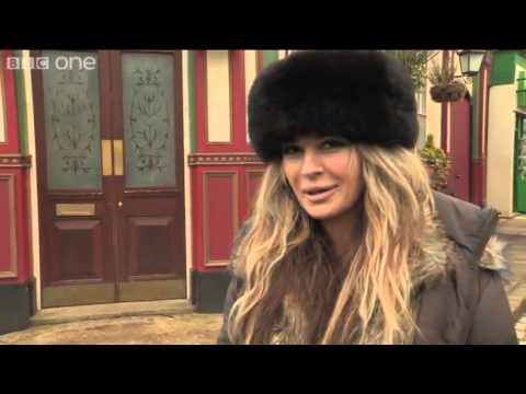Eastenders On set with...Kierston Wareing aka Kirsty Branning   YouTube.flv