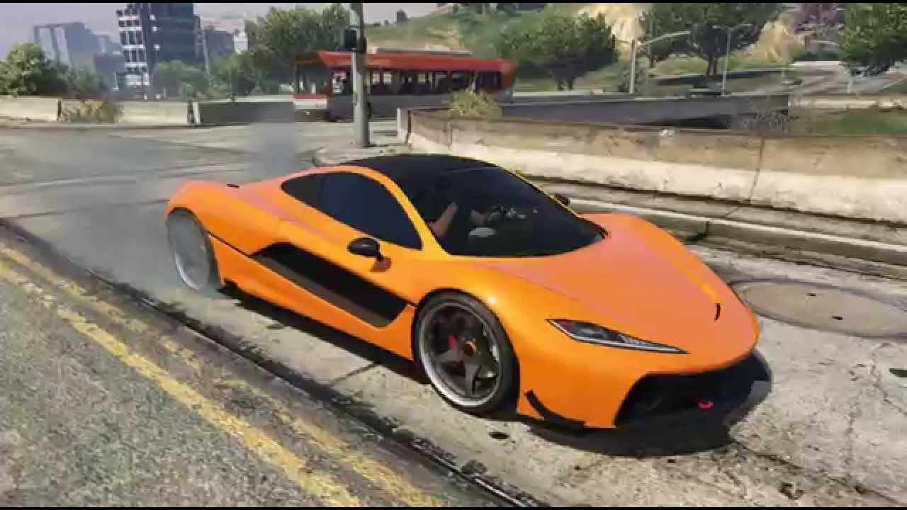 Gta Online Mclaren Hypercar Top Speed Run Grand Theft