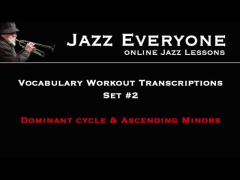 Vocab Workout Transcriptions - Set 2