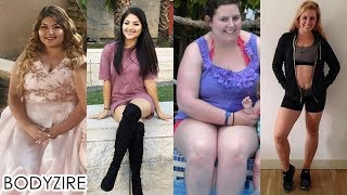 Amazing Women Weight Loss Transformation Female Obese To Fit Motivation Before And After