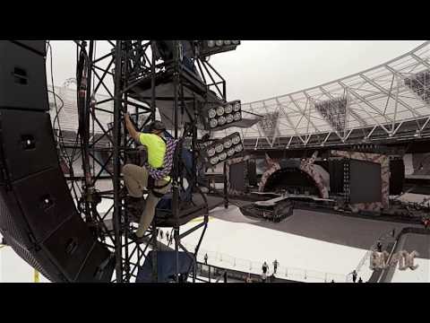 AC/DC Rock or Bust Tour - Load-in Day:...