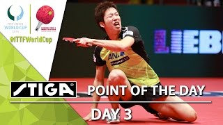 2015 Men's World Cup - Day 3 - Point of the Day presented by Stiga