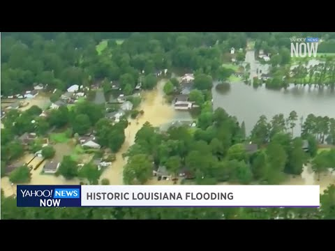 Historic Louisiana flooding