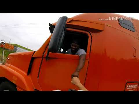 K.C. Wheeler - Trucker Almost Nails Cyclist