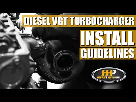 Diesel VGT Turbocharger Install Guidelines, Do This To Your Diesel Engine Before Install!