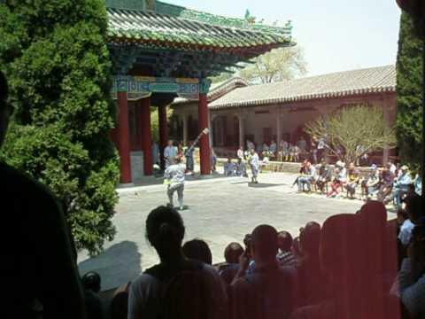 Китай. Монастырь Шаолинь