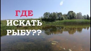 Где искать Щуку на Незнакомом озере Советы начинающим Рыбалка на спиннинг на щуку с лодки Рыбалка