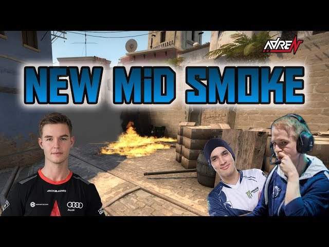 CS:GO Mirage New Skybox Smoke | CT Spawn to Top Mid | adreN CS:GO Pro Tips