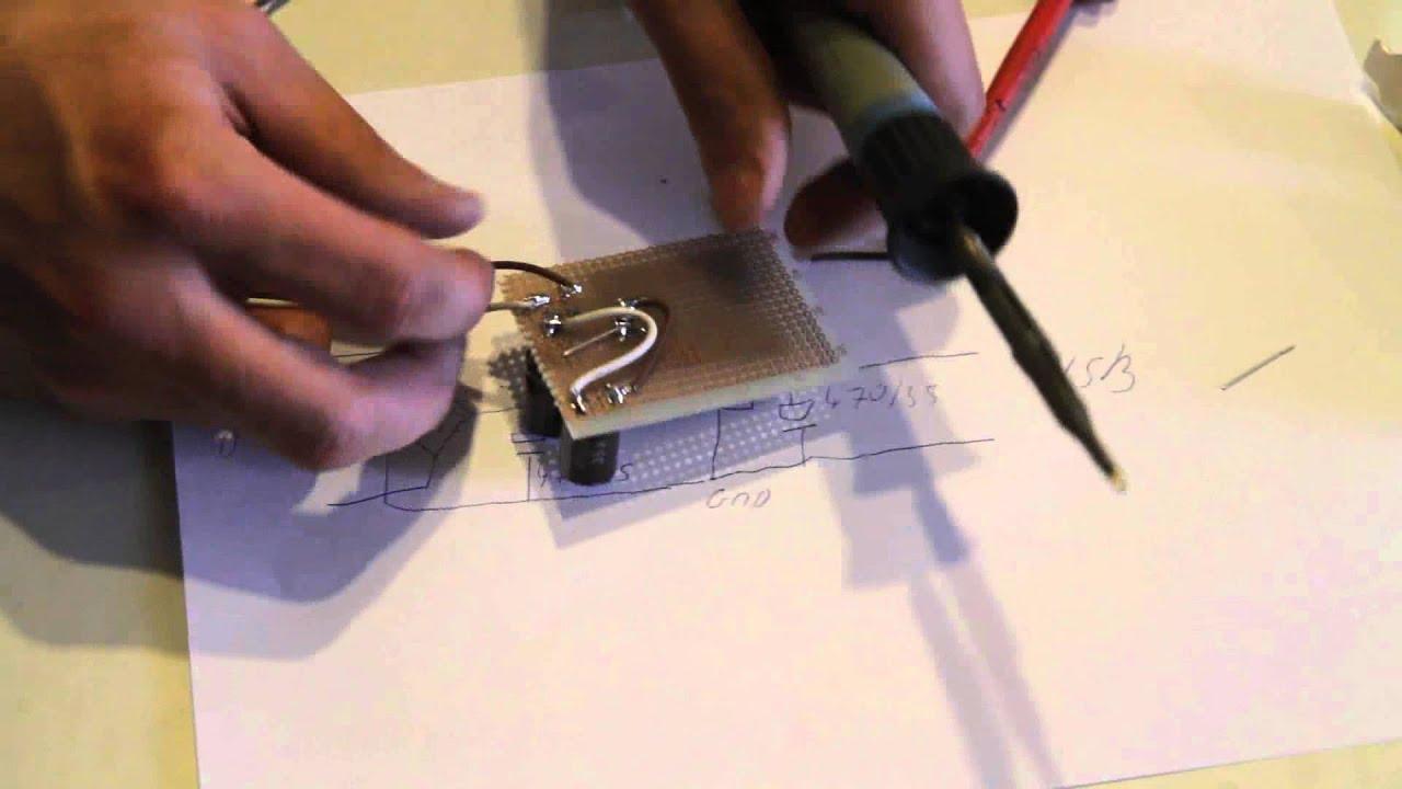 Fahrrad Handy Ladegerät Bauanleitung - Selber bauen - YouTube