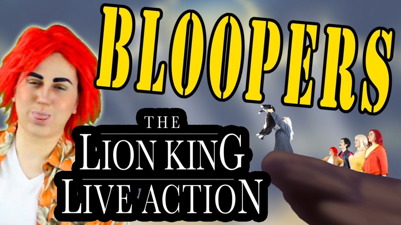 Download BLOOPERS & Outtakes! The Lion King Live Action - Disney - Madi2theMax
