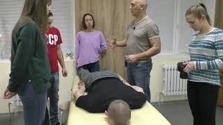 Коррекция таза без массажа