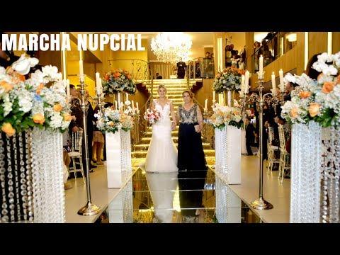 Entrada da Noiva Marcha Nupcial Original   Casamento Buffet East Side   Coral Orquestra Cerimonial