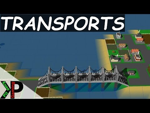 Transports Lets Play #1 - Getting Started - Transports Gameplay