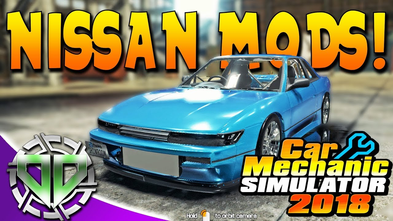 Car Mechanic Simulator 2018 Nissan Mods Car Salon Race Track