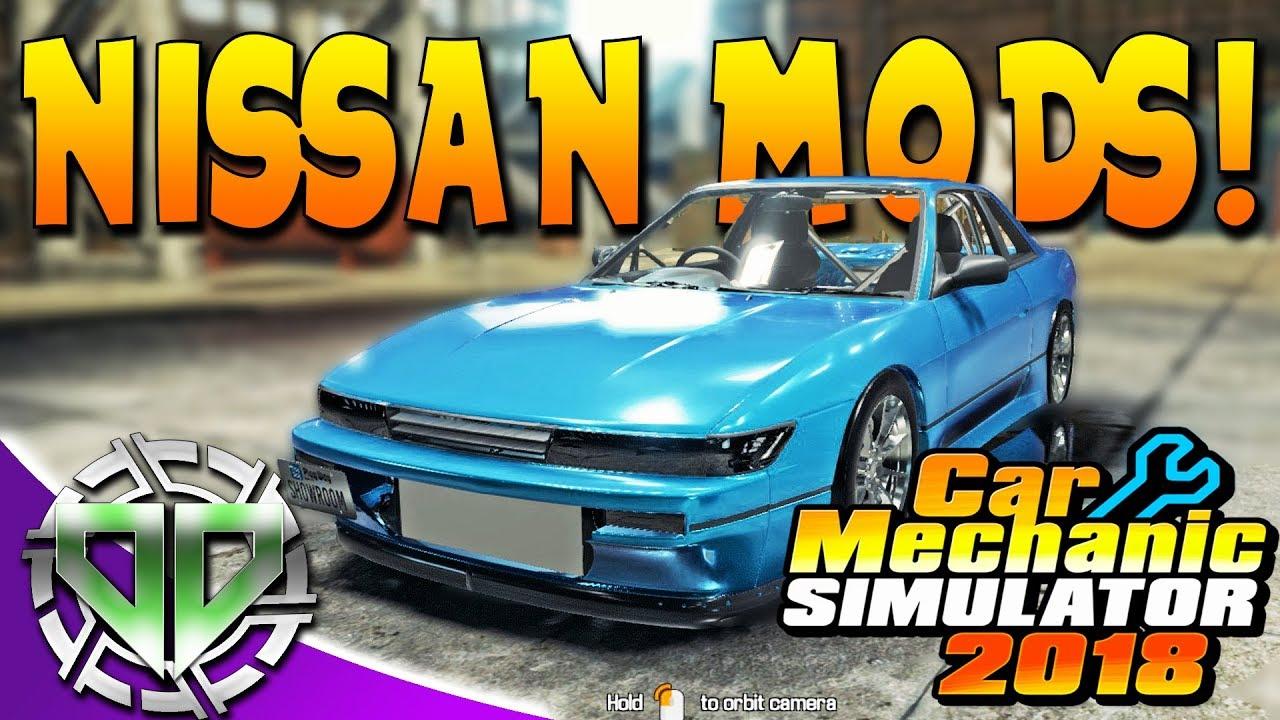 Car Mechanic Simulator 2018 Nissan Mods Car Salon