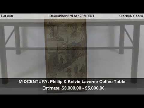 Phillip U0026 Kelvin Laverne Coffee Table