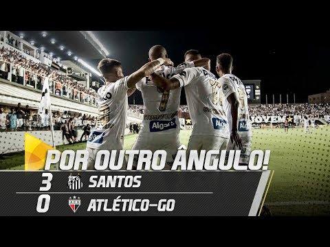 SANTOS 3 X 0 ATLÉTICO-GO | GOLS POR OUTRO ÂNGULO | COPA DO BRASIL (11/04/19)
