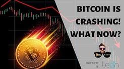 Bitcoin is CRASHING! What should you do?