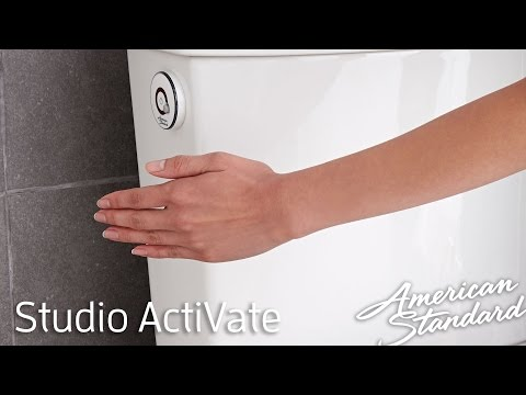 New Touchless Toilet - American Standard Studio ActiVate Concealed Trapway Toilet