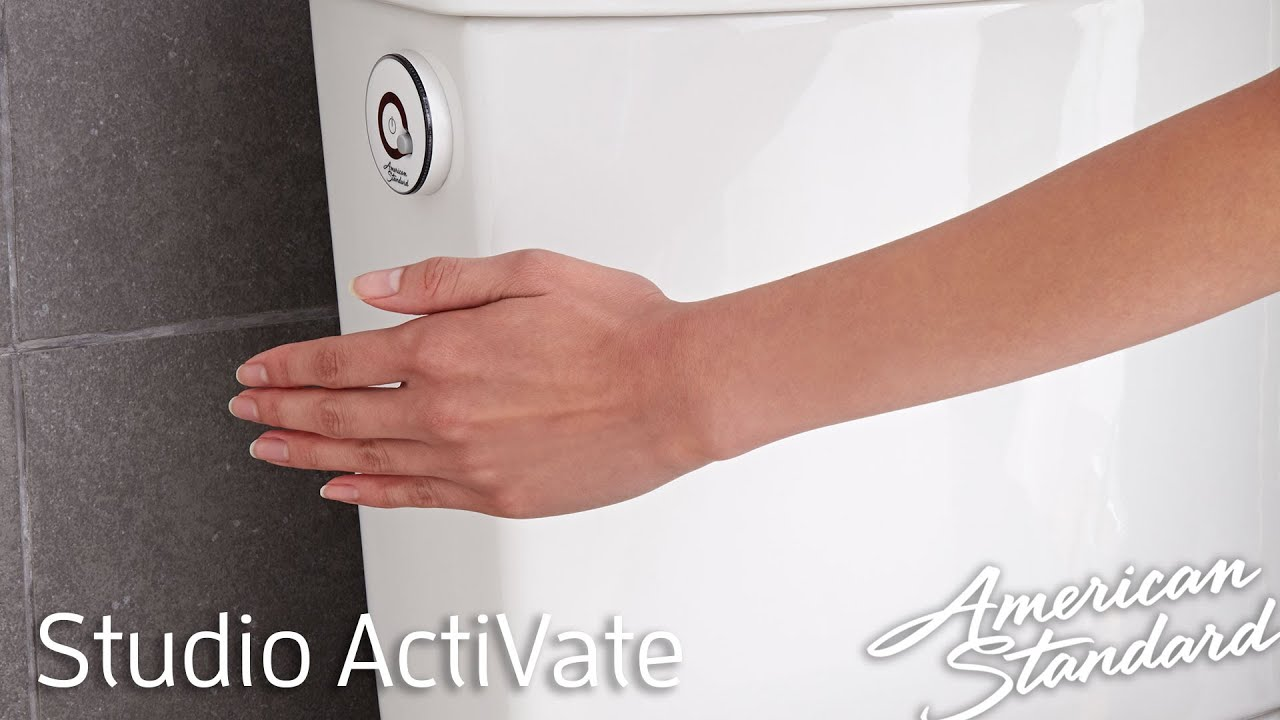 New Touchless Toilet - American Standard Studio ActiVate Concealed ...