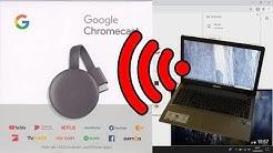 Laptop mit Chromecast verbinden