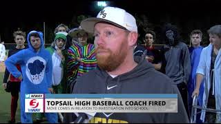 Topsail baseball coach fired in wake of ineligible player investigation
