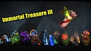 Dota 2 TI6 Immortal Treasure III 2016 Chest Opening 70 Pack