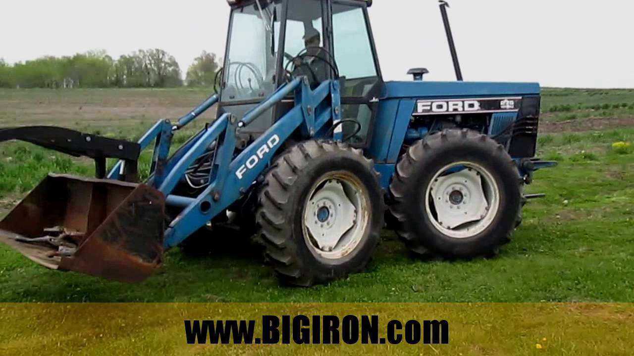 Ford Bi Directional Tractor : Big iron online auction  ford versetible ii