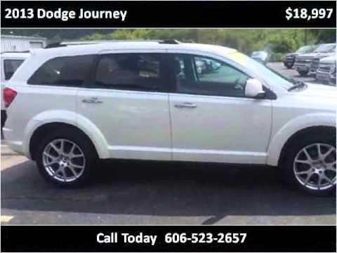 Tim Short Corbin Ky >> 2013 Dodge Journey Used Cars Corbin KY - YouTube