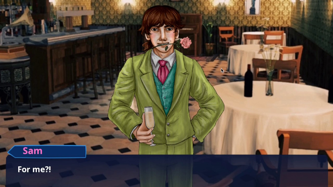 Sam in New York - Indie Visual Novel - 2019 Valentines Special (Sam)