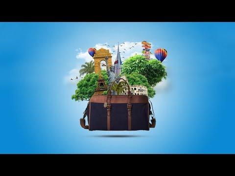 Photoshop Manipulation Tutorial | My Travel Bag thumbnail