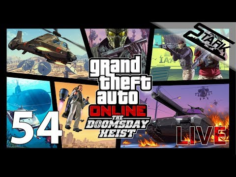 GTA 5 - 54.Rész (The Doomsday Heist / Update!) - Stark LIVE
