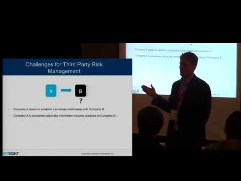 Stephen Boyer | Measuring Security Outcomes From Data to Insight for Third Party Risk Management