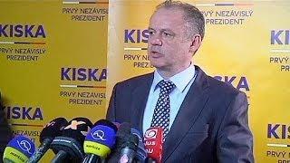 Slovakia: Andrej Kiska victorious in presidential elections