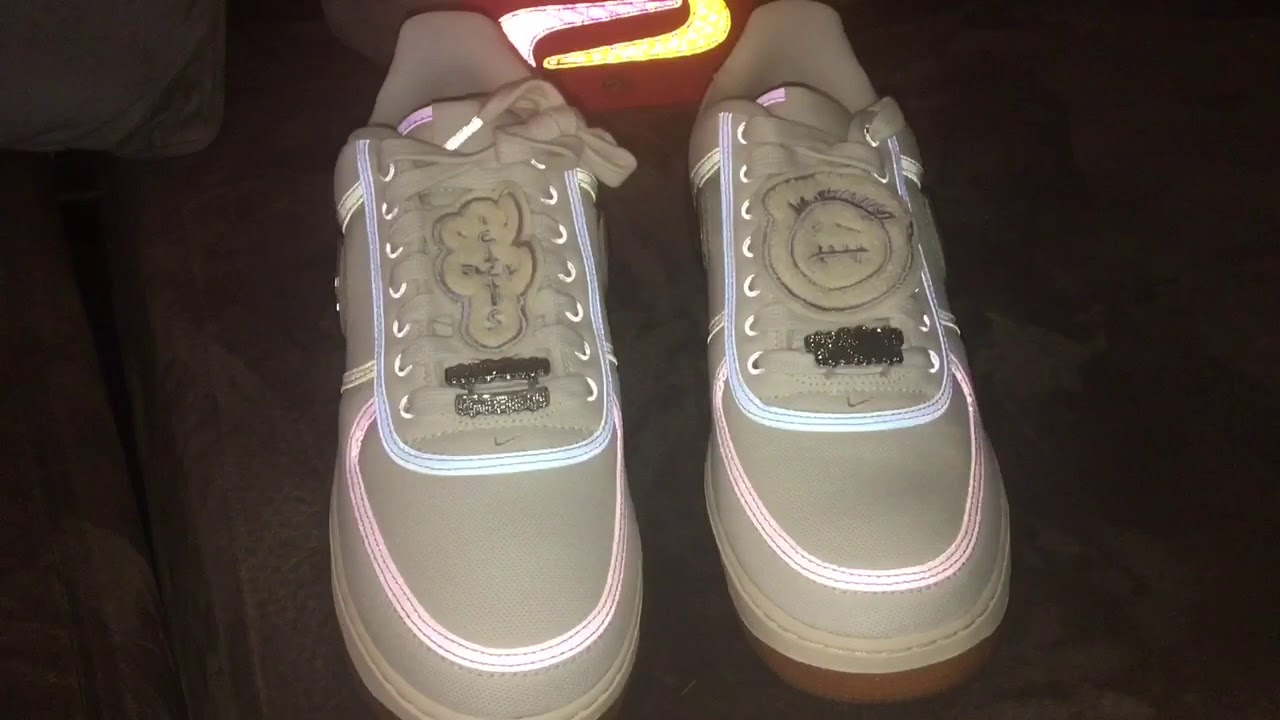 3639344fb451 The Nike Air Force 1 Low Travis Scott (Sail) Unboxing   Up Close Look!!!
