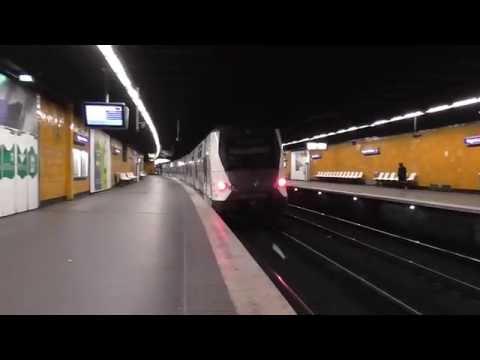 MI09 : Départ de la gare de Nogent Sur Marne sur la ligne A du RER ...