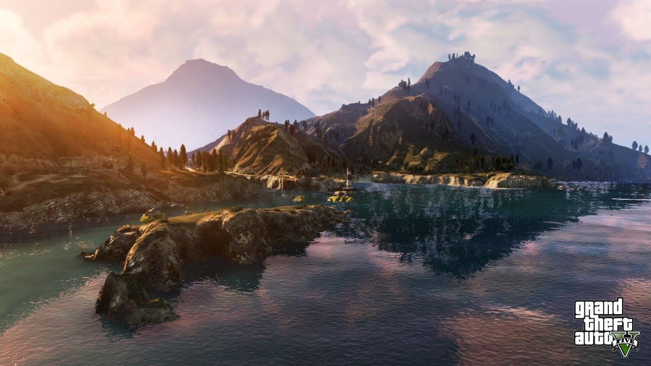 Minecraft Gta V Background