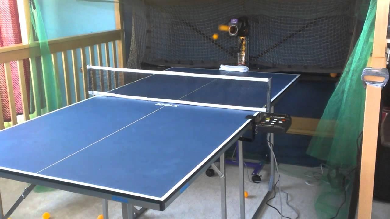 Genial Robo Pong 2050 And Joola Mini Table