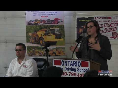 Ontario Truck Driving School Job Fair