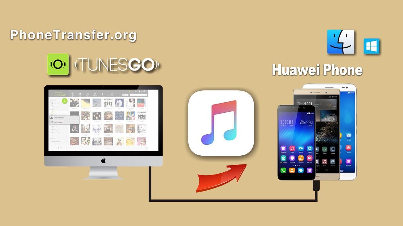 Musik von PC/Mac auf Huawei übertragen - YouTube