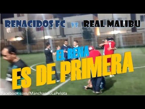 Renacidos FC vs REal Malibu ***Partido por el no descenso*** 2°Tiempo 02/05/18