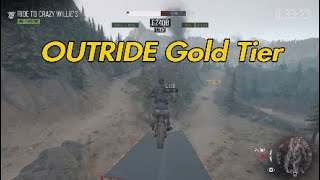 Days Gone Outride Challenge 8 - Gold Tier Guide 110k Score