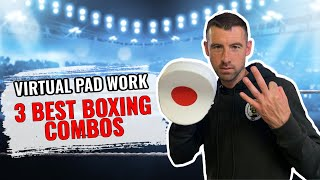 3 Boxing Combinations using Virtual Pad Work