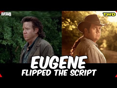 The Walking Dead Eugene Flipped The Script! New And Improved!