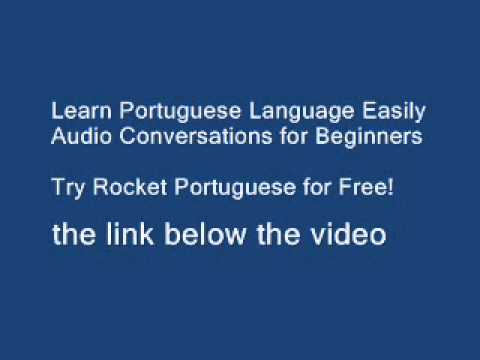 Learn to Speak Portuguese the time