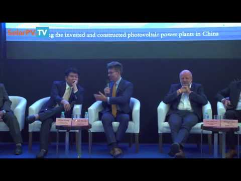 Talesun Solar in India -  Solar Energy Policy 100GW by 2022- with Hans Josef Fell